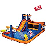 Unbranded Bounce House Water Park Pirate Bay Inflatable Combo Blower Included Inflate Time 2 Minutes - Skroutz Deals