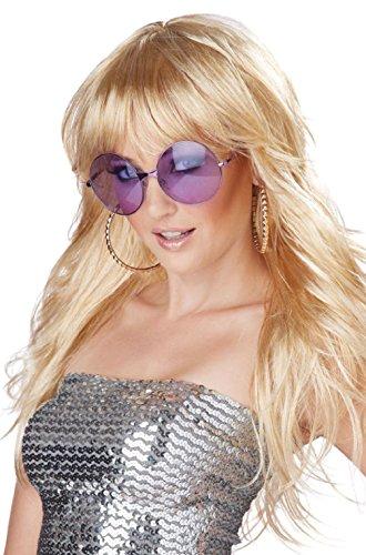 70s Celebrity Disco Fever! Costume Wig (Hottest Female Celebrity Halloween Costumes)