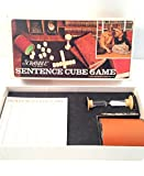 Scrabble Sentence Cube Game; 1971 Vintage by Selchow & Righter