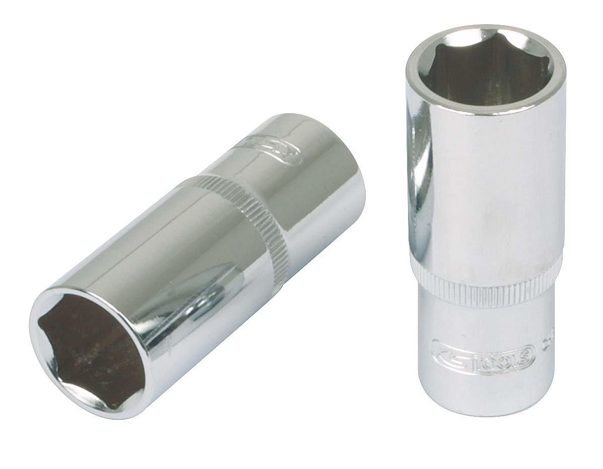 KS Tools 918.3841 3//8 CHROMEplus Sechskant-Stecknuss 21mm lang
