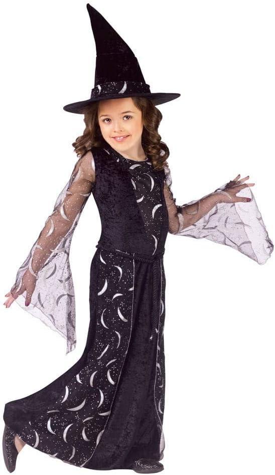 Luna hoz Bruja infantil Disfraz M: Amazon.es: Juguetes y juegos