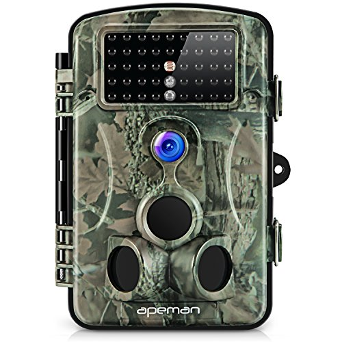 APEMAN-Trail-Camera-12MP-1080P-GameHunting-Camera-with-120°Wide-Angle-44-PCs-IR-LEDs-Night-Version-up-to-20M65FT-IP54-Spray-Water-Protected-Design