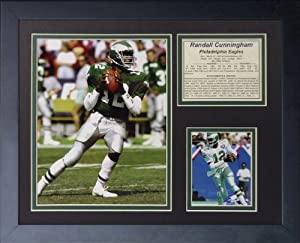 "Legends Never Die ""Randall Cunningham"" Framed Photo Collage, 11 x 14-Inch"