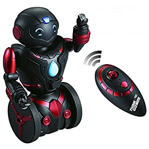 Remote Control Robot Toy for Kids TG634-R - Self Balancing Black & Red Robotic Toy (Version 2!!) – Smart Interactive RC Robot By ThinkGizmos (Trademark Protected)