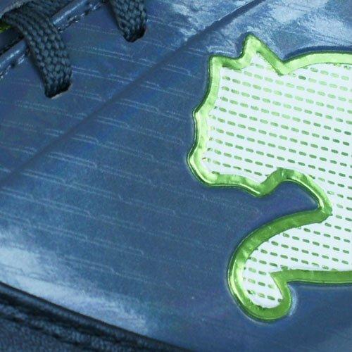 Puma - Botas de deportivo para hombre, tamaño 7.0 UK - 40.5 EU, color blanco / rot / blau anthrazit / grün (anthrazit / grün)