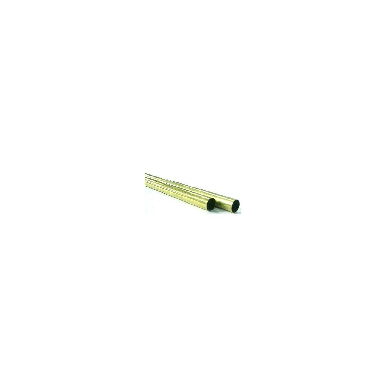 K /& S PRECISION METALS 8136 13//32x12 RND BRS Tube
