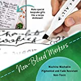 Crafts 4 ALL Permanent Fabric Marker Laundry Marker Non Bleed Dual Tip 2 Pack BLACK