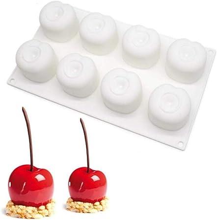 xiaoshenlu Moules /à Savon en Silicone pour moules Moules /à Muffins au Chocolat