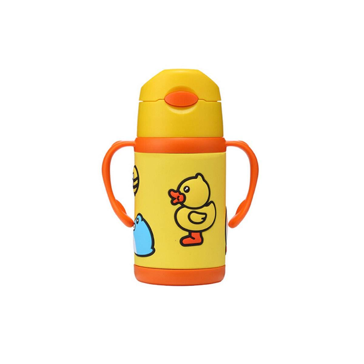 低価格の ストローカップ 10オンス ステンレススチール イエロー シッピーカップ ベビー&幼児用 シリコンストロー イエロー ハンドル付き イエロー グリーン B07NSMXY1R イエロー chenjinxiang イエロー B07NSMXY1R, エコウェーブ:f9b48dad --- a0267596.xsph.ru