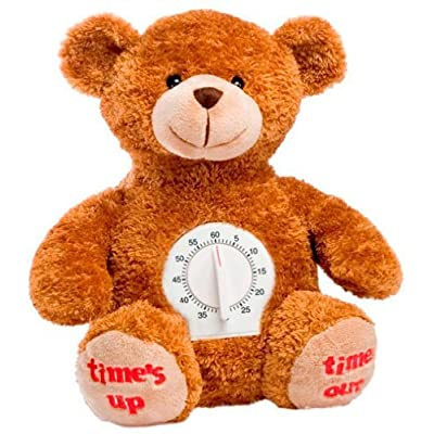 Genius Baby Toys Time Out Plush Bear with Timer: Toys & Games
