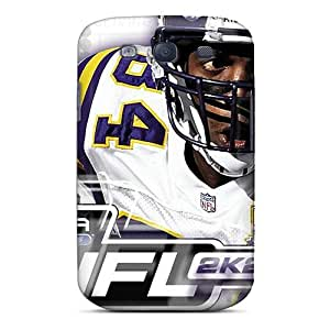 Protector Cell-phone Hard Cover For Samsung Galaxy S3 With Customized Lifelike Oakland Raiders Pictures LavernaCooney