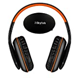 KOTION EACH Professional over-head wireless Bluetooth Headphones PC with Mic (Orange)
