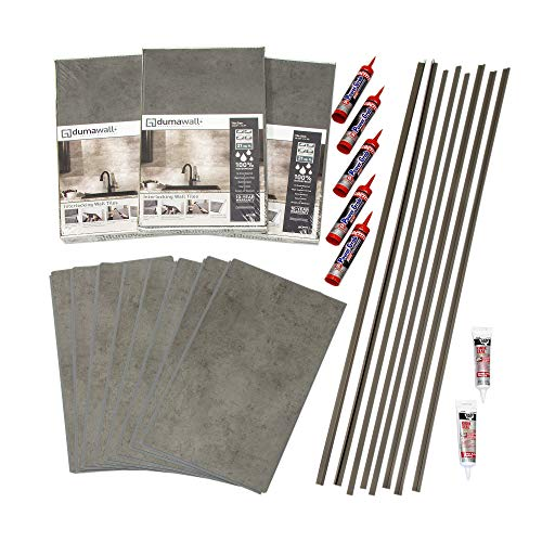 Shower Wall Kit - DumaWall Shower and Tub Surround Kit (Steel Wool)