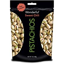 Wonderful Pistachios Sweet Chili Pouch, 7 Ounce