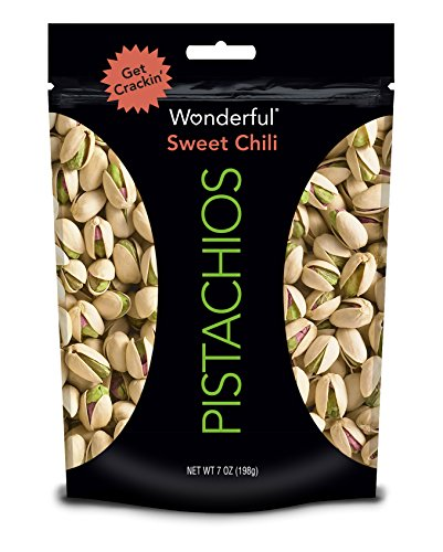Wonderful Pistachios Sweet Chili 7 Ounce Pouch Only $2.84