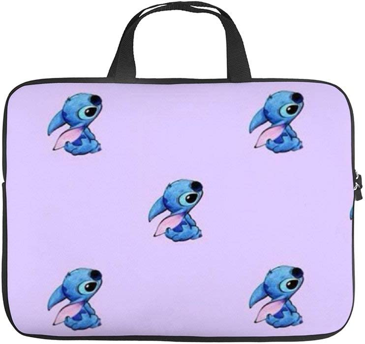 Laptop Bag Protective Case Tote Notebook Computer Pocket Case Carrying Zipper Bag 10-17 Inch Cute Stitch Patterns 2
