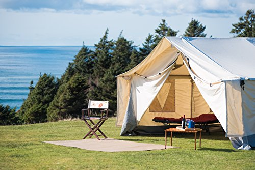 WHITE-DUCK-OUTDOORS-Complete-Canvas-Wall-Tent-with- & WHITE DUCK OUTDOORS Complete Canvas Wall Tent with Aluminum Frame ...