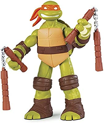 Tortugas Ninja - Figura Battle Shell Mike (Giochi Preziosi 95008)