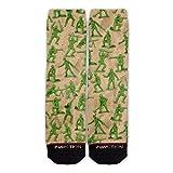 Function - Green Army Men Pattern Fashion Socks