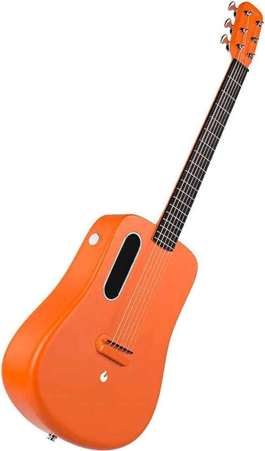 XBSD Traveler Guitar, Guitarra eléctrica Natural de 6 Cuerdas ...