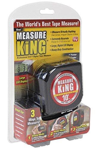 Measure King As Seen On TV 3-in-1 Digital Tape Measure