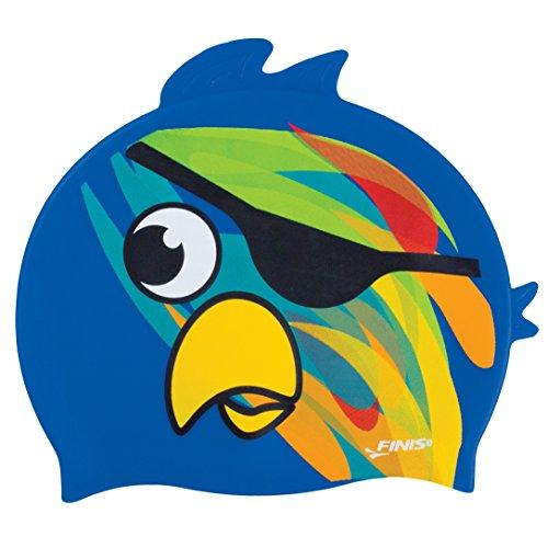 - FINIS Animal Head Swim Cap (Pirate Parrot)