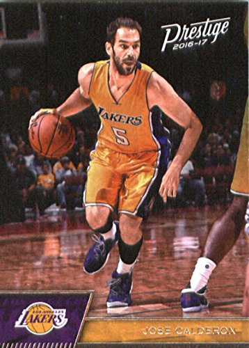 2016-17 Panini Prestige #2 Jose Calderon Los Angeles Lakers Basketball Card