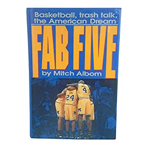 Chris Webber, Jalen Rose and Juwan Howard Autographed Hand Signed Fab Five 1st Edition First Printing Hardcover Book with Proof Photo of Juwan Signing and COA UM Michigan Wolverines Men's Basketball