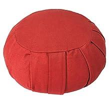 YogaAccessories (TM) Round Cotton Zafu Meditation Cushion
