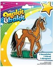 ColorBok TB-48945 Makit and Bakit Suncatcher Kit, Horse