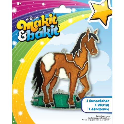 Colorbok TB-48945 Makit and Bakit Suncatcher Kit, Horse by Colorbok
