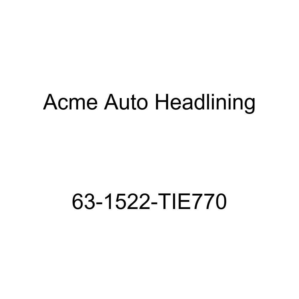 Acme Auto Headlining 63-1522-TIE770 Black Replacement Headliner Pontiac Tempest 2 Door Club Coupe 5 Bow