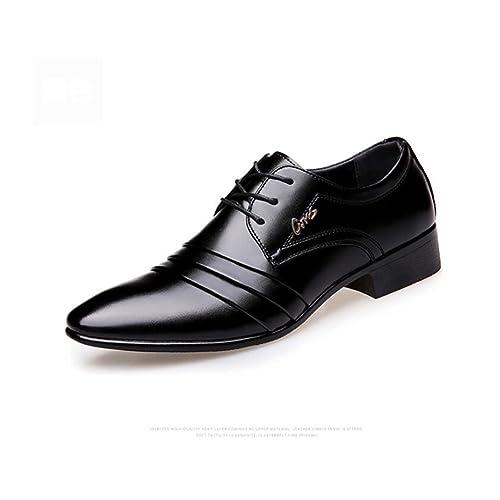 ee05575c Zapatos de Cuero para Hombres Micro Fiber Spring/Fall Comfort Zapatos  Oxford para Caminar Zapatos
