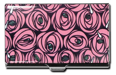 ACME Studios Roses and Teardrops Business Card Case by Charles Rennie Mackintosh (CCM02BC)
