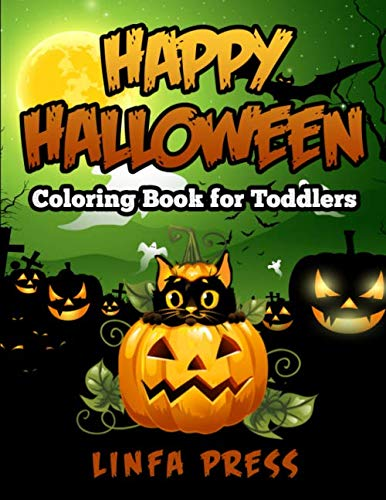 Halloween Colouring Pages Online (Happy Halloween Coloring Book for Toddlers: A Collection of 77 Fun and Easy)