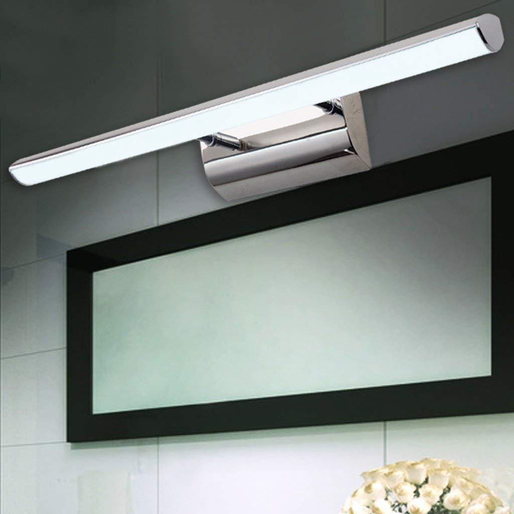 FXING Vordere Scheinwerfer, Spiegel, Badezimmer Spiegelschrank Beleuchtung LED-Make-up-Leuchten wc Wand Lampe (Größe  42 cm)