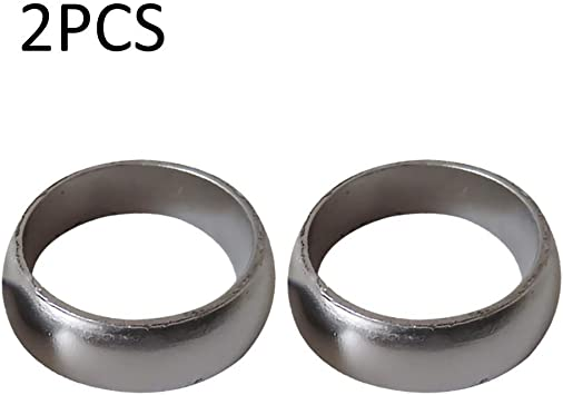 DesirePath 2Pcs Exhaust Donut Seal Gasket Fit for Polaris Sportsman 600 700 800 3610047