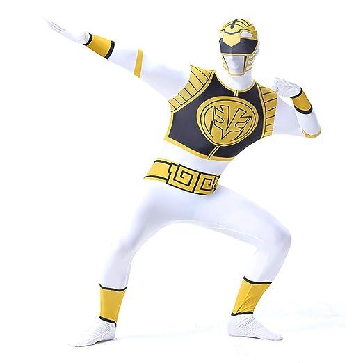 Ropa De Hombre Cosplay Power Ranger Dinosaurios Equipo Medias ...