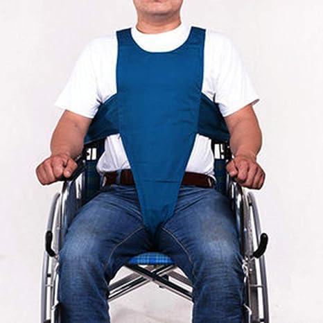 AA-SS-Seat Belts Silla de Ruedas Cinturón de Seguridad Correas de sujeción Pacientes