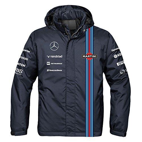 The Williams Martini Team Waterproof Jacket, XXX-Large - Williams F1 Team