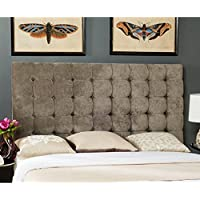 Safavieh Lamar Slate Blue Upholstered Tufted Headboard (Full)