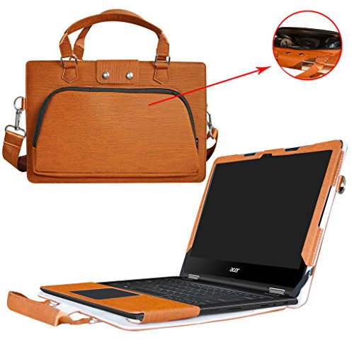 Zr Series (Acer Spin 5 13.3 inch Case,2 in 1 Accurately Designed Protective PU Leather Cover + Portable Carrying Bag For 13.3