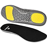 STASOLE Anti-Fatigue Insoles for Man and Woman Cushioning Gel Shoe Inserts with Arch