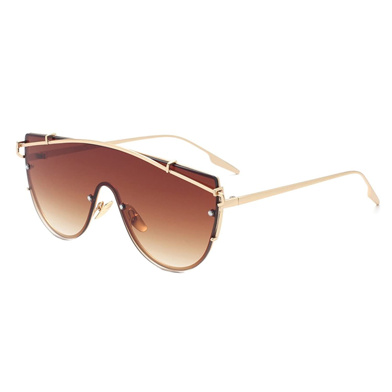 Coolsunny Cat Eye Street Fashion Metal Frame Women Sunglasse CS2054