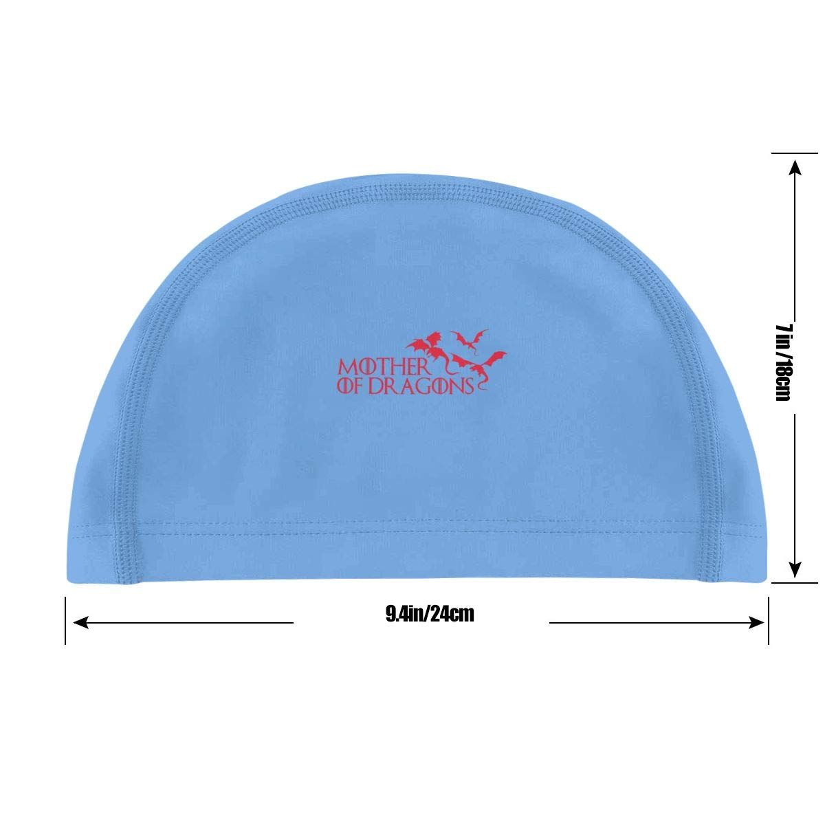 Mother of Dragons Swimming Cap Bathing Caps for Men Women