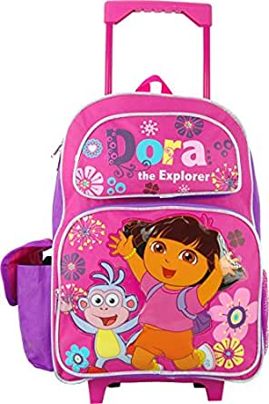 Amazon.com | Dora the Explorer 16 Inch Large Rolling