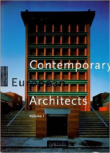 001: Contemporary European Architects: Vol. 1 (Big Series : Architecture  and Design): Wolfgang Amsoneit: 9783822897539: Amazon.com: Books