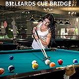 Sumind Retractable Billiards Cue Stick Bridge with