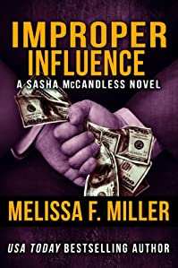 Improper Influence by Melissa F. Miller ebook deal