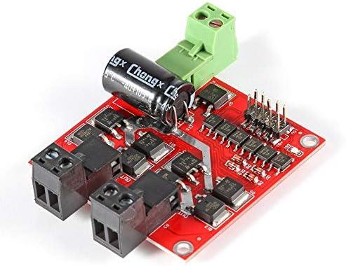 Dual DC Motor Drive Module 7A 160W Positive Negative PWM Speed L298 Logic
